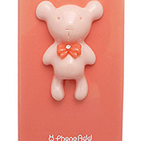 Alice Pastel Special Honey Bear Case for iPhone 4 / 4S - Peach