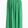 vibrant living belted skirt in green