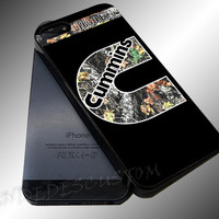 Cummins Turbo Diesel Black - iPhone 4/4s/5c/5s/5 Case - Samsung Galaxy S3/S4 Case iPod 4/5 Case - Black or White