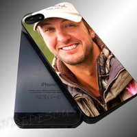 Luke Bryan Styles - iPhone 4/4s/5c/5s/5 Case - Samsung Galaxy S3/S4 Case iPod 4/5 Case - Black or White