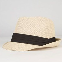 Straw Womens Fedora