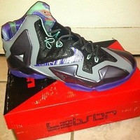 Nike Labron James Shoes (Purple &Grey) Never Worn & No Defects. Size 10