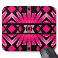 Mix #559 - Black And Pink Mousepad