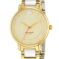 kate spade new york 'gramercy' round bracelet watch, 34mm | Nordstrom