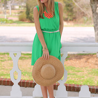 Be Envied Dress, Green