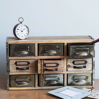 ModCloth Rustic Crafty Catalogue Storage Chest