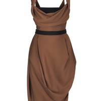 Brown Evening Dress | Vivienne Westwood