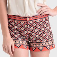 Grand Palace Embroidered Shorts
