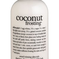 philosophy 'coconut frosting' shampoo, shower gel