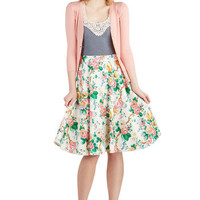 Beauty and the Botanist Skirt | Mod Retro Vintage Skirts | ModCloth.com