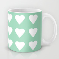 16 Hearts Mint Mug by Project M
