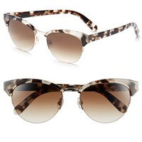 kate spade new york 53mm cat-eye sunglasses