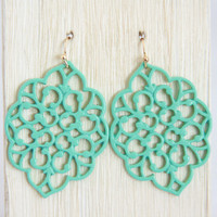 Aqua Morocco Earrings