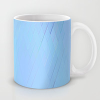 Re-Created Vertices No. 15 Mug by Robert S. Lee