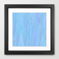 Re-Created Vertices No. 15 Framed Art Print by Robert S. Lee