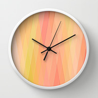 Re-Created Vertices No. 16 Wall Clock by Robert S. Lee