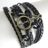 Deathly Hallows Harry Potter Bracelet Wrap