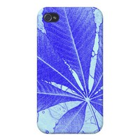 Simple Blue Leaf