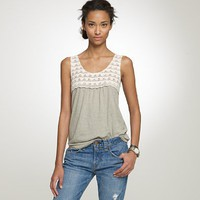 Scallop lace shell