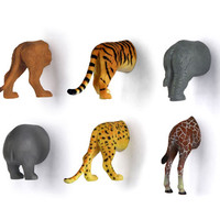 Kikkerland Design Inc » Products » Animal Butt Magnets
