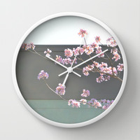 Spring Boulevard Wall Clock by RichCaspian