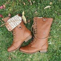 Lovely Lace Boots | Shop Civilized