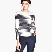 Striped Top - from H&M