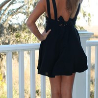 Bangles Boutique — MINI Black Baby Doll Dress