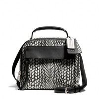 BLEECKER PINNACLE CROSSBODY IN PAINTED SNAKE EMBOSSED LEATHER