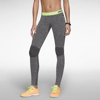 The Nike Pro Hyperwarm Compression Seamless Women's Tights.