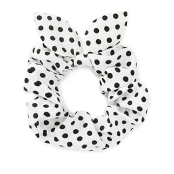 Throwback Polka Dot Scrunchie