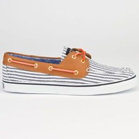 SPERRY TOP-SIDER Bahama Seersucker Womens Boat Shoes