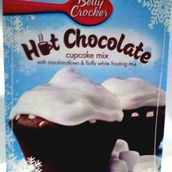Betty Crocker Hot Chocolate Cupcake Mix (2 Packages)