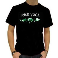 St. Patrick's Day Shirt- Irish Yoga- Unisex