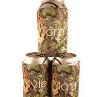 GROOMSMEN GIFTS-Personalized Can Koozies-Wedding Gifts-Gifts for GUYS- Great Gifts for the Wedding Party-Great Christmas Gifts