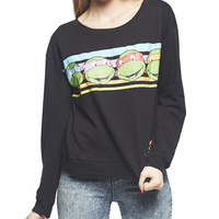 Teenage Mutant Ninja Turtles Sweatshirt | Wet Seal