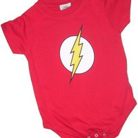 The Flash Logo Infant Onesuit Snapsuit