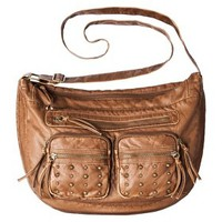Mossimo Supply Co. Studded Crossbody Handbag - Cognac