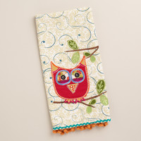 OWL DECORATIVE TEA TOWEL