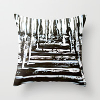 Winter Throw Pillow by Claudia McBain