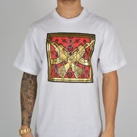 Billionaire Boys Club Golden Gun T-Shirt - White