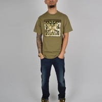Billionaire Boys Club Golden Gun T-Shirt - Green/Khaki