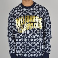 Billionaire Boys Club Counter Meaures Crew Sweatshirt - Navy