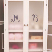 Bratt Decor Casablanca Armoire Frosted Plexiglass Doors
