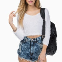 Cuddle Up Cropped Sweater $29