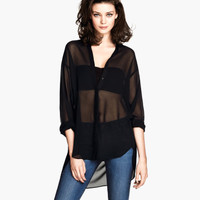 Sheer Blouse - from H&M