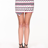 ORIGAMI TRIBAL SKIRT