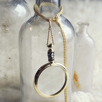 70's Spyglass Necklace