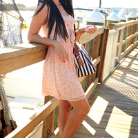 Calling My Sailor Dress: Light Peach