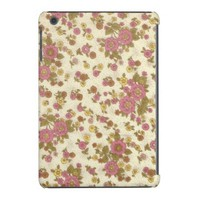 Delicate Pink Flower Pattern iPad Mini Retina Case